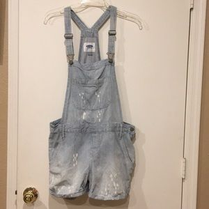 Old Navy Shorts - Old Navy Short Overalls